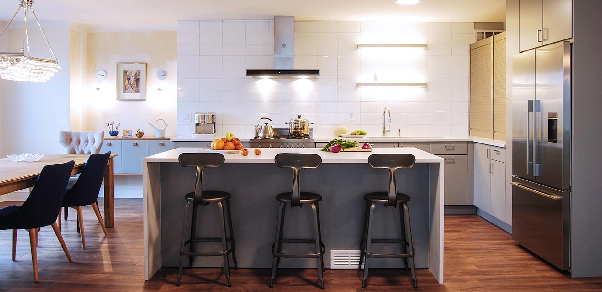 modern matte kitchen