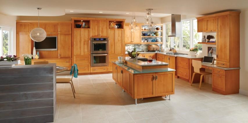 Medallion wood cabinets