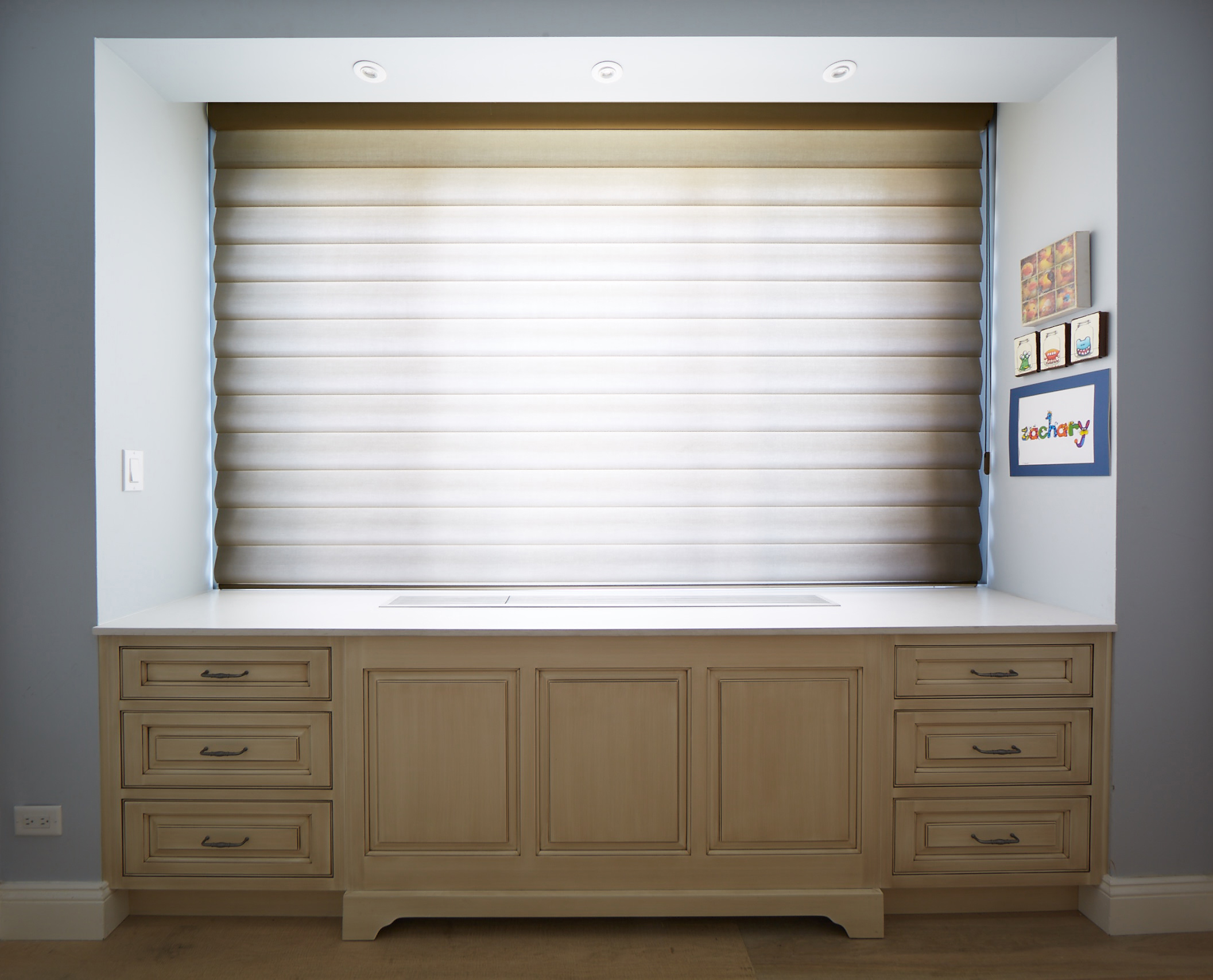 Radiator cover and cabinets