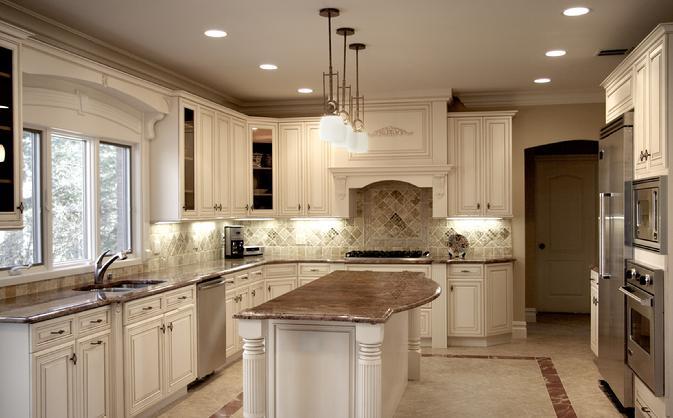 Hanssem Kent Maple in Crystal White kitchen