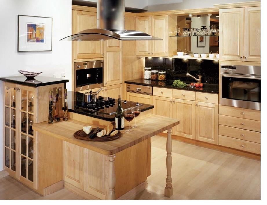 Hanssem square maple natural Cabinets