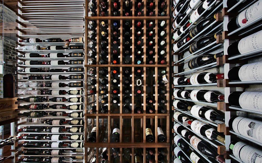 Millesime Stone wall Wine Cellar