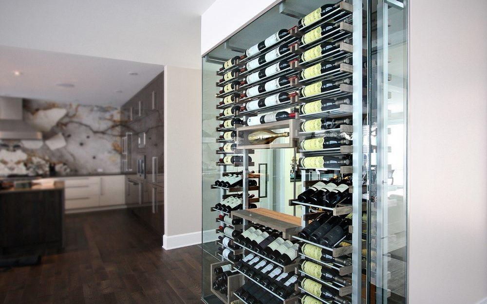 Millesime stunning glass Wine Cellar