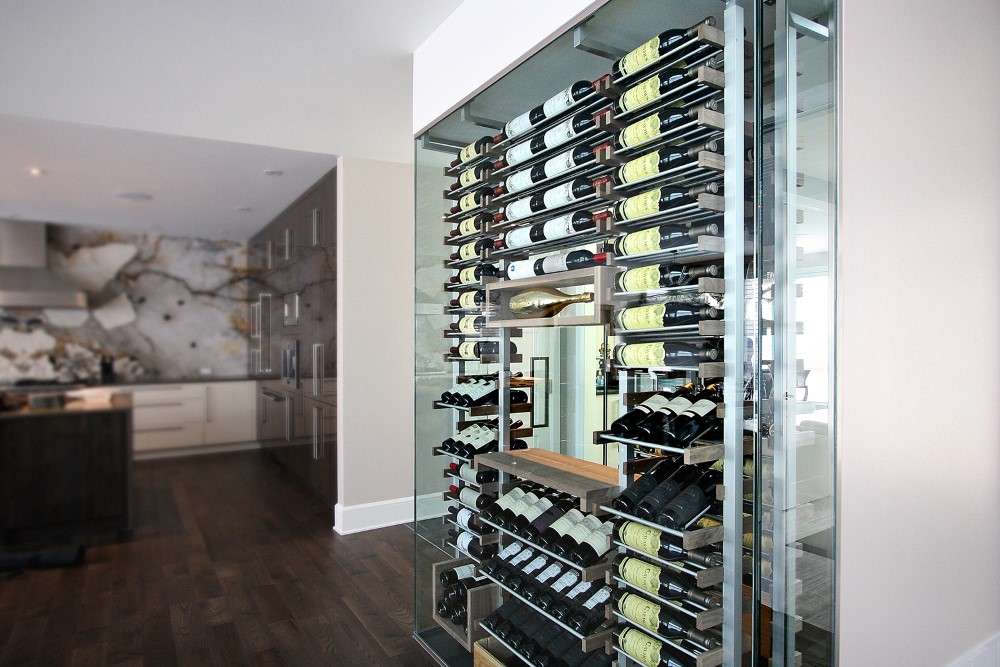 Millesime stunning glass Wine Cellar