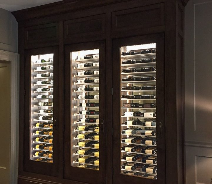 Millesime traditional wood Wine Cellar-84