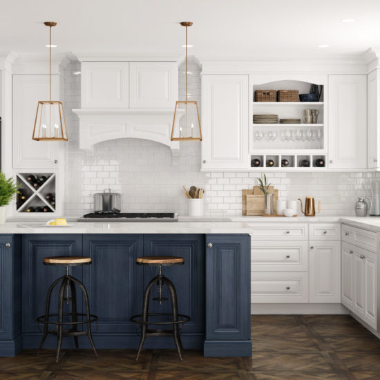 Park avenue, traditional, white kitchen