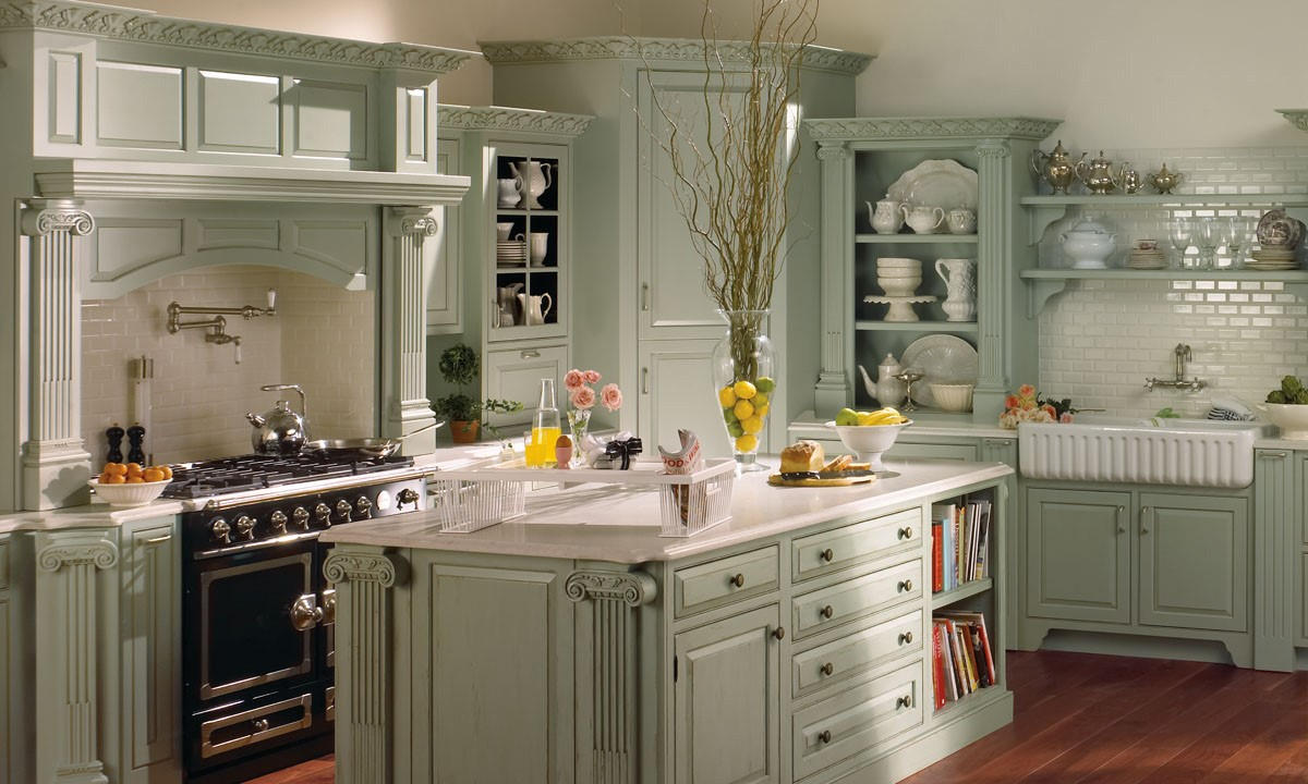 Plain and Fancy Traditional Kitchen