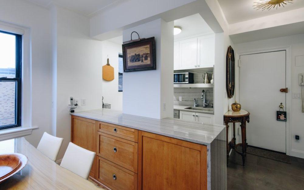 Plain and Fancy frameless line Medley Shaker cabinets