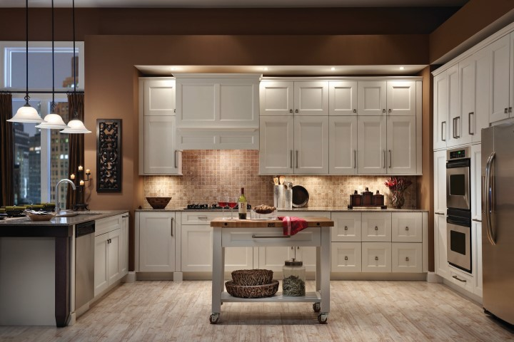 Medallion wood cabinets