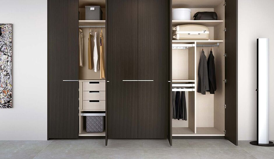 Simple wooden Closet