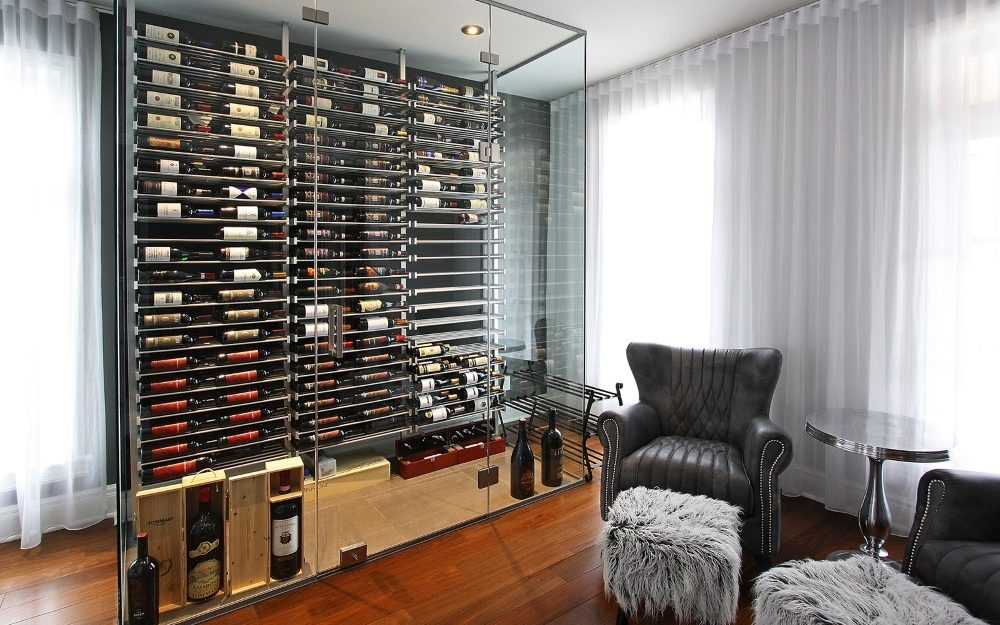 millesime glass Wine Cellar