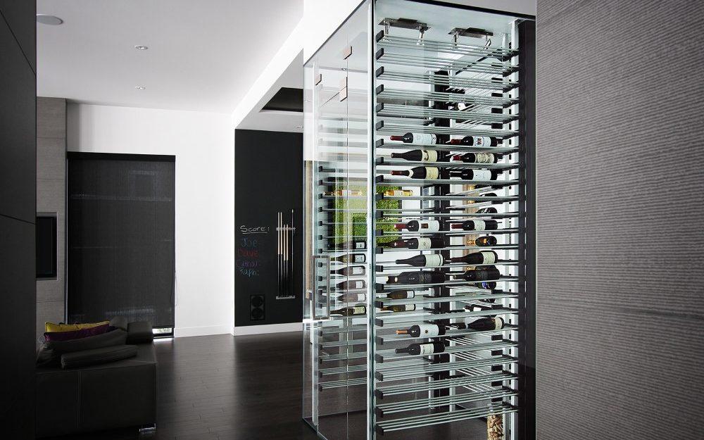 millesime living Glass Wine Cellar