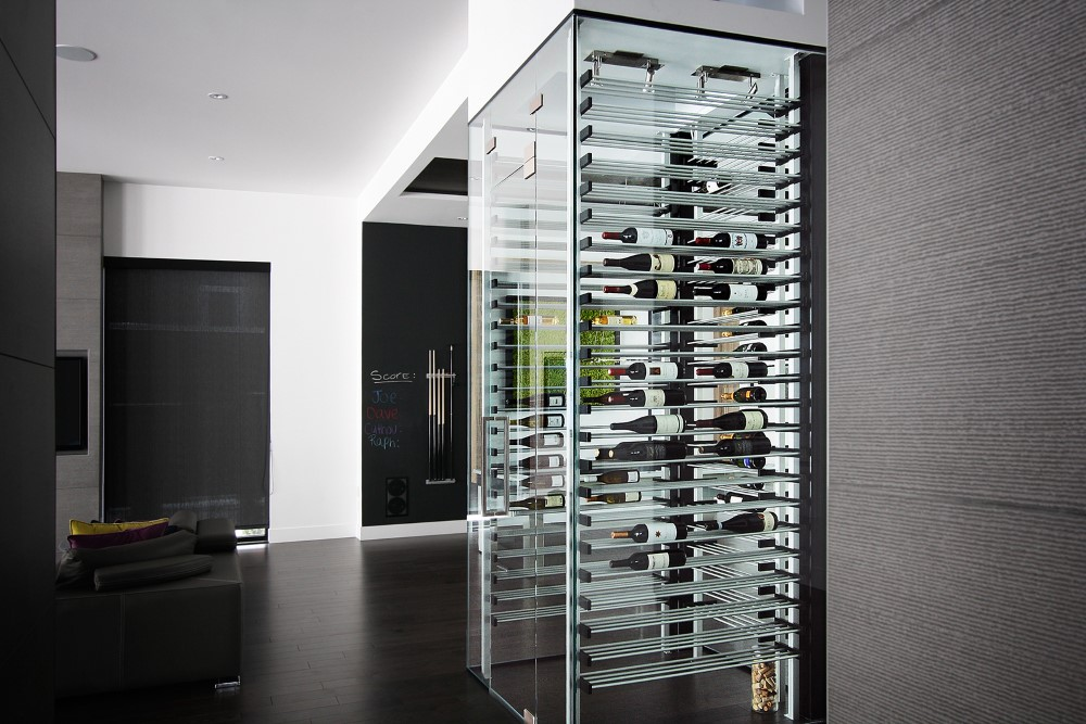 millesime living Glass Wine Cellar