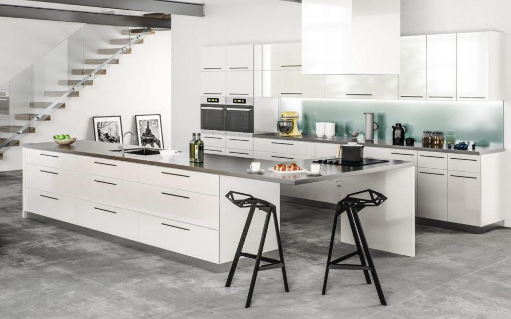 white modern Cabinets